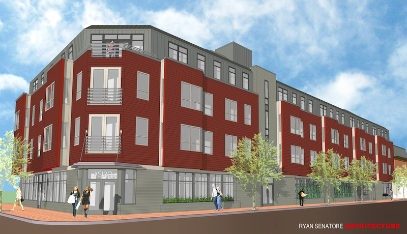 Redfern LWS will break ground Tuesday on a four-story mixed-use development at the corner of Pine and Brackett streets in Portland's historic West End neighborhood. It will include 39 market rate apartments with first-floor retail.