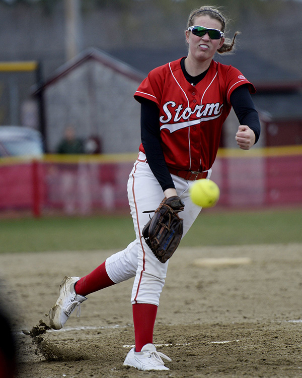 Softball: Alyssa Williamson from Scarborough High School.