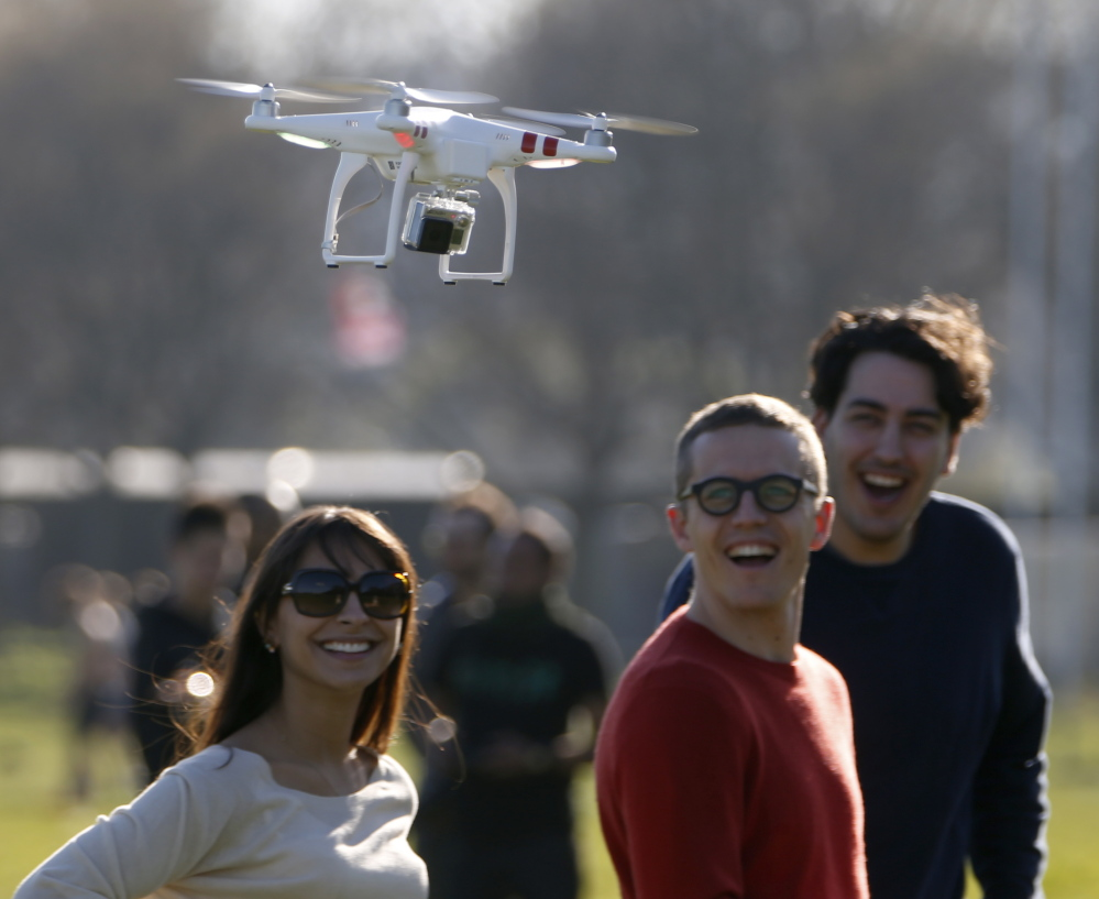 Drones ranging from small quad-copters sold in hobby shops to remote-controlled crop dusters are on the verge of creating revolutionary changes in aviation, scientists say. Reuters