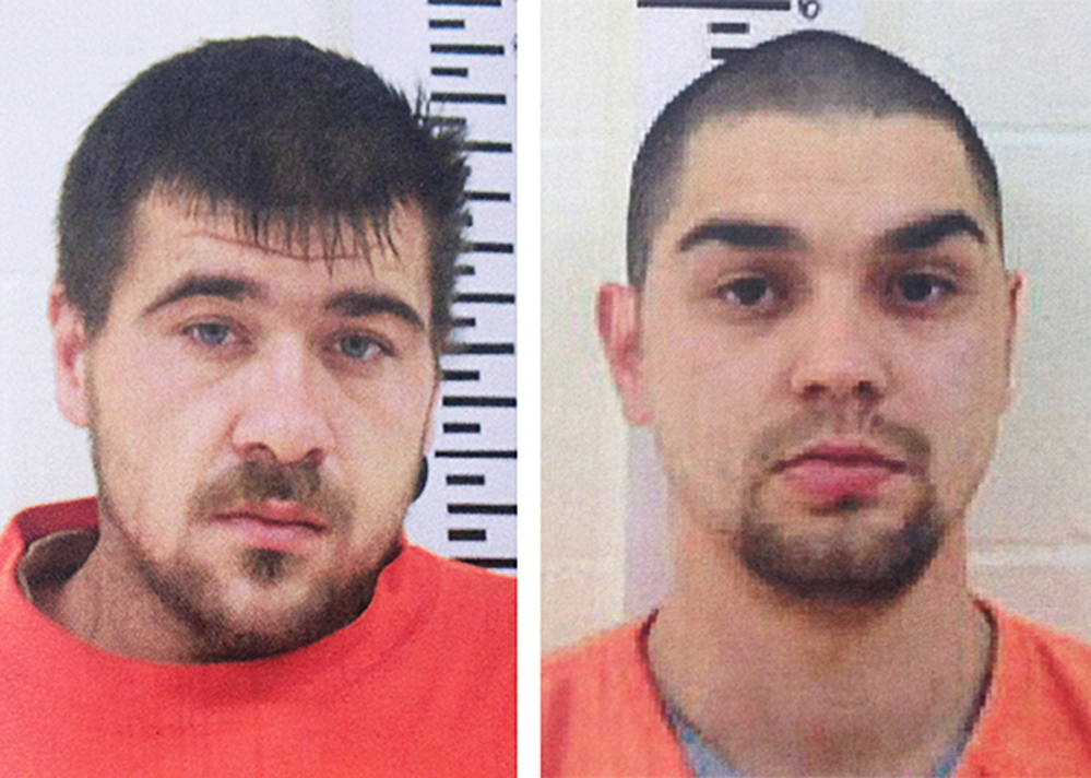 Courtesy York County Sheriff's Office Bert Stroud, left, and Gilbert Perez
