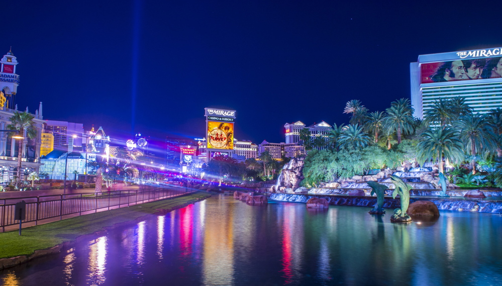 "Shutterstock photo A view of the Las Vegas strip. ""Unreal City"" describes the behind-the-scenes transactions that helped light up western cities."