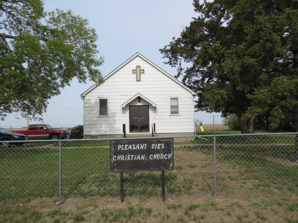 Pleasant View Christian Church in Ash Grove Township near Wilcox, Neb. The Associated Press