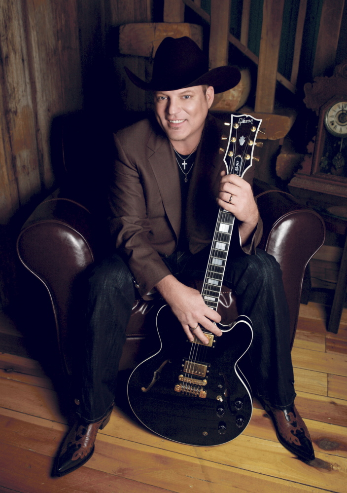Country singer John Michael Montgomery will perform at Fort Halifax Park in Winslow Thursday, July 3, as part of the town's Fourth of July celebration. Contributed photo / Free Entertainment