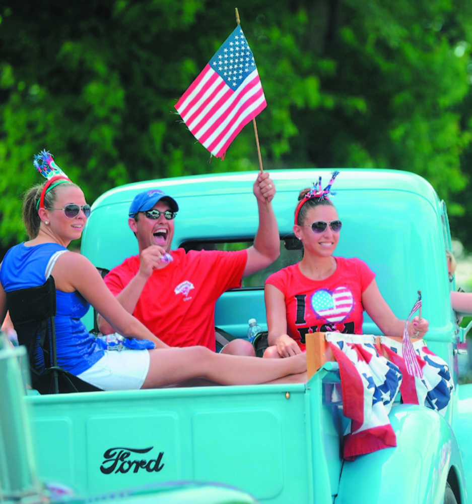 Participants during last year's Winslow Family 4th of July Celebration parade. Michael G. Seamans / Staff Photographer