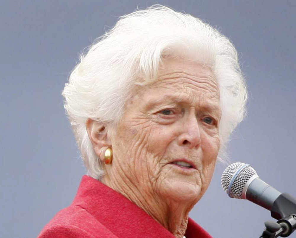 The Associated Press Former first lady Barbara Bush is having a private dinner with family members in Kennebunkport, where the family has a summer home. She is celebrating her 89th birthday on Sunday.