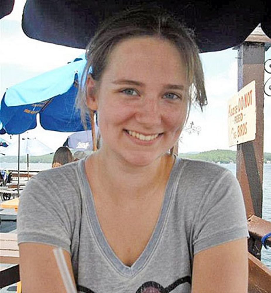 "The Associated Press This undated family photo shows Elizabeth ""Lizzi"" Marriott, who disappeared Oct. 9, 2012."