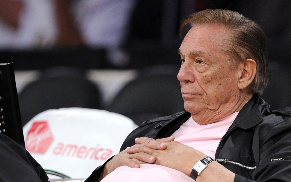 In this Oct. 17, 2010 file photo, Los Angeles Clippers team owner Donald Sterling watches his team play in Los Angeles. The Associated Press