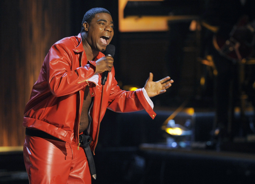 "Comedian Tracy Morgan performs at ""Eddie Murphy: One Night Only"" in November 2012at the Saban Theater in Beverly Hills, Calif. Morgan is recovering after a chain-reaction crash on the New Jersey Turnpike early Saturday that left two others critically injured and one dead."