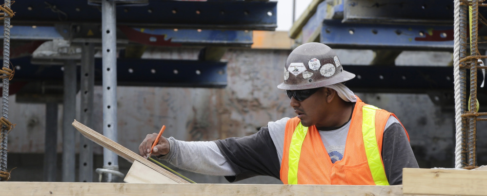 ... and skilled construction workers are among workers seeing significant pay increases.