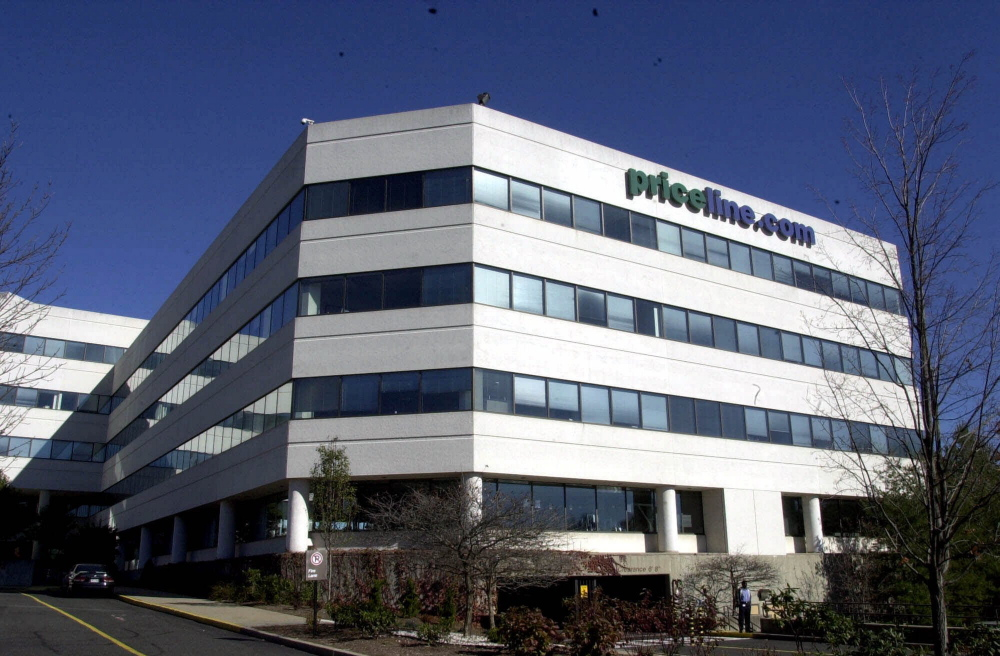 Priceline Group's headquarters in Norwalk, Connecticut, in an undated photo. Its brands include Booking.com, priceline.com, agoda.com, KAYAK and rentalcars.com.