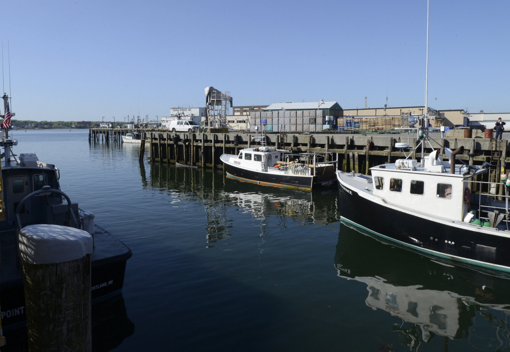 Portland's working waterfront: A national report suggests Maine's poor grade in productivity likely stems from the prevalence of its fishing and agriculture industries, which generate relatively low revenue per worker.