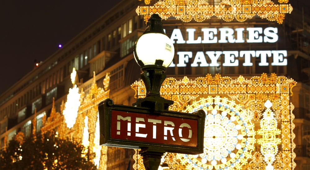Would you be considered fluent in French if you could negotiate buying a ticket for the Metro?