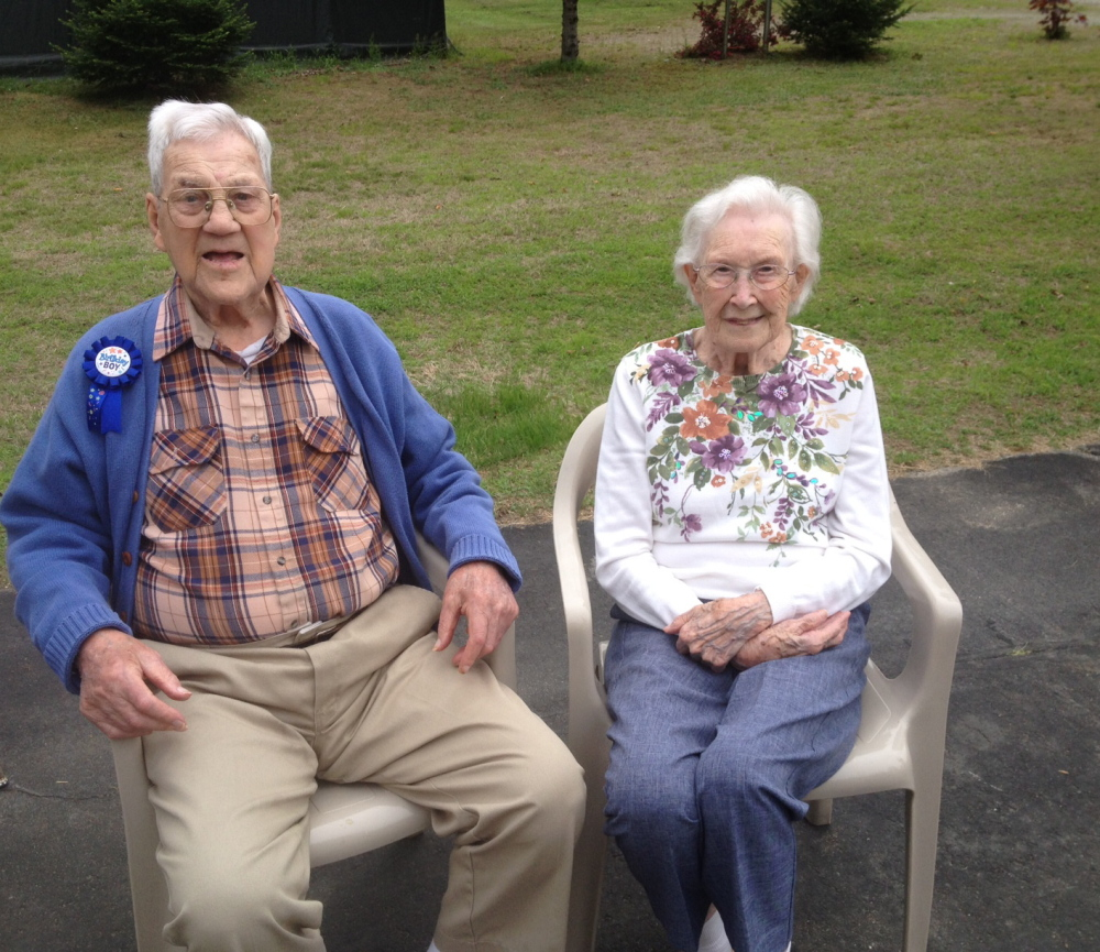 Arthur and Lorena Provost celebrate Arthur's 100th birthday Saturday. They have been married for 77 years.