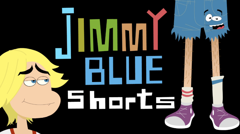 "This undated image provided by DreamWorksTV shows an image from ""Jimmy Blue Shorts,"" one of more than a dozen new shows on DreamWorks TV. On Monday."