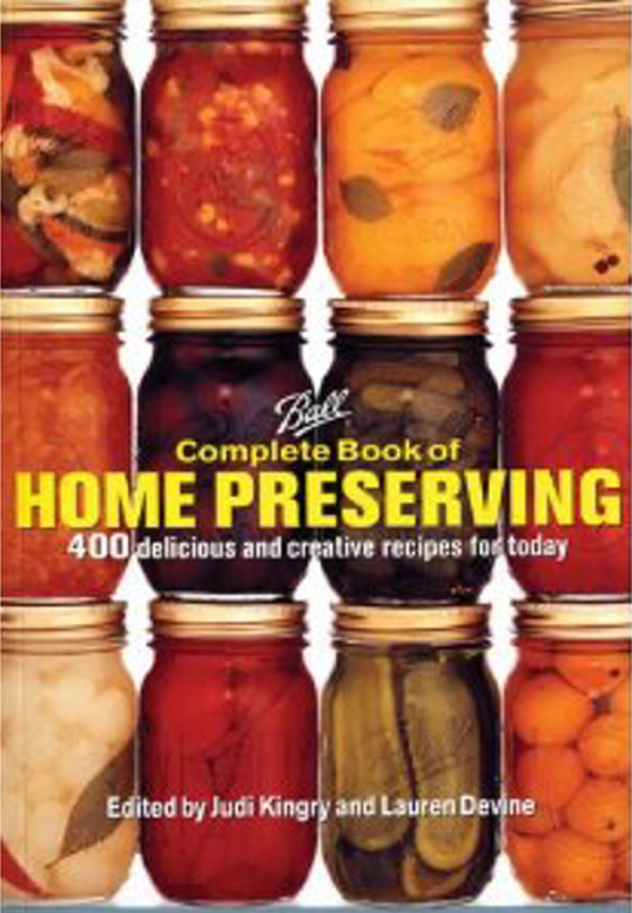 """Ball Complete Book of Home Preserving"" is a good guide for beginners."