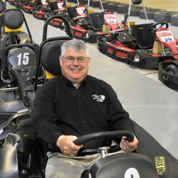 Rick Snow, owner of Maine Indoor Karting in Scarborough, is a trustee of the National Small Business Association, which tries to influence policy decisions to help small businesses.