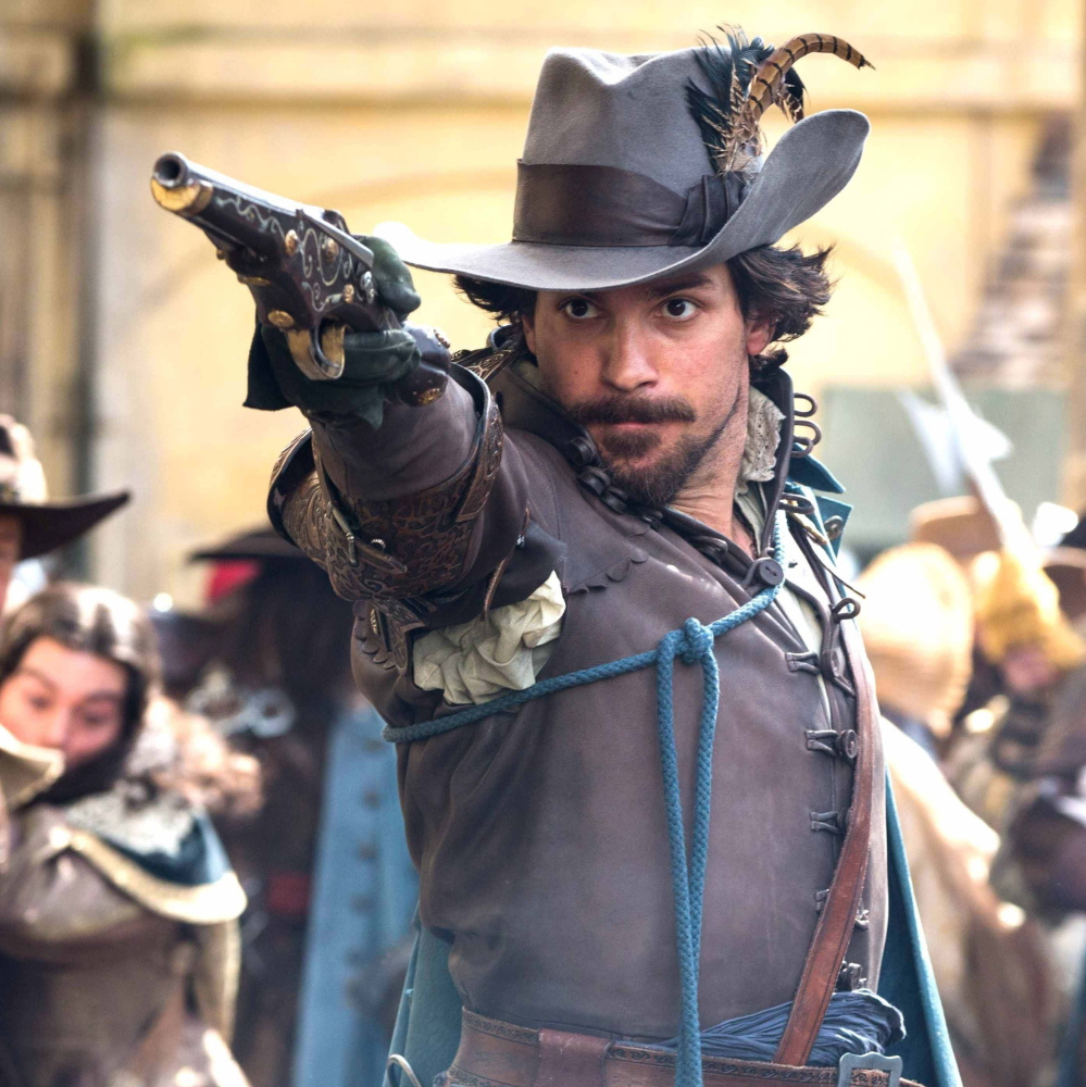 "Santiago Cabrera plays the romantic Aramis in ""The Musketeers,"" premiering Sunday."