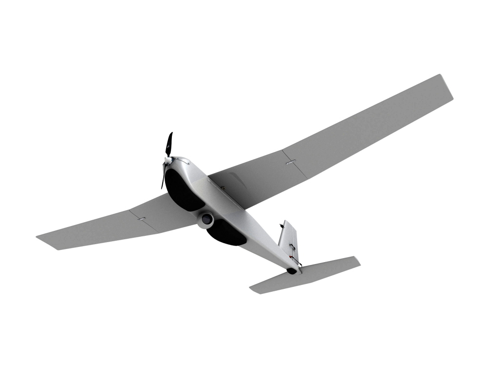 Unmanned aircraft range from no bigger than a hummingbird to the size of an airliner, and their capabilities are improving rapidly. This undated photo provided by AeroVironment shows a Puma drone aircraft. The Puma is a small, hand-launched craft about 4½ feet long and with a 9-foot wingspan. It was initially designed for military use.