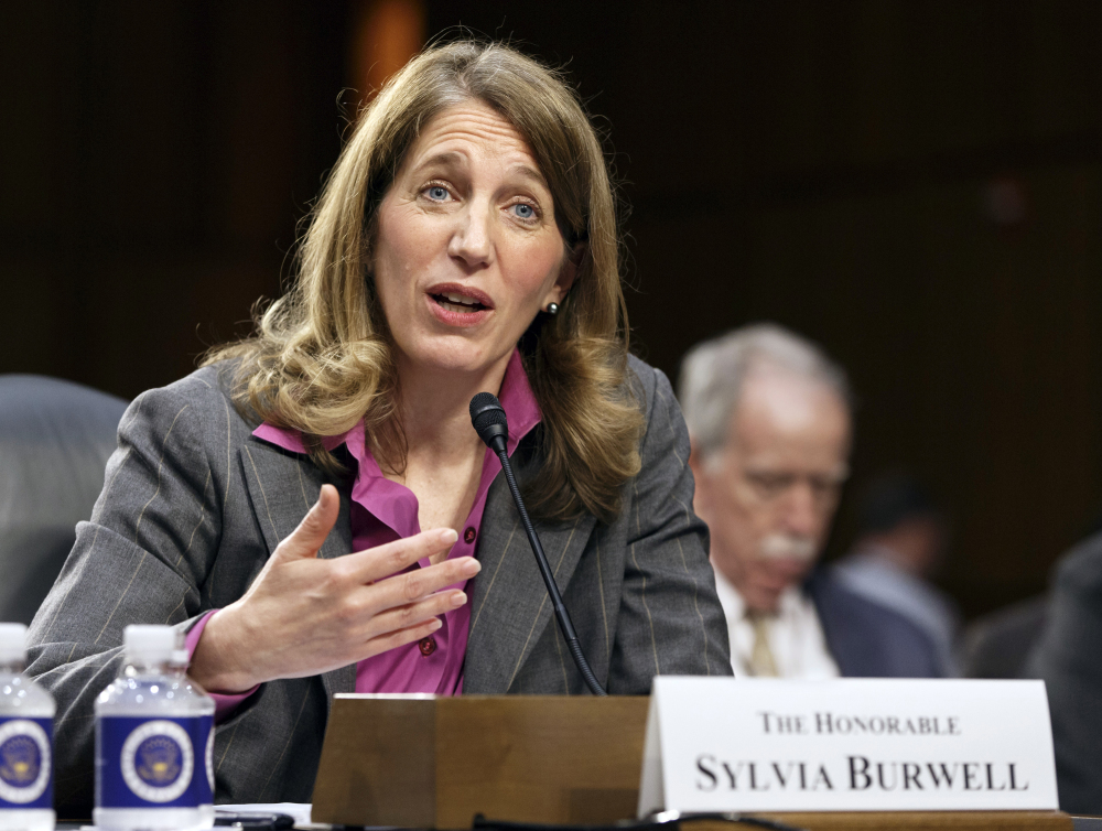 Health and Human Services Secretary Sylvia Burwell