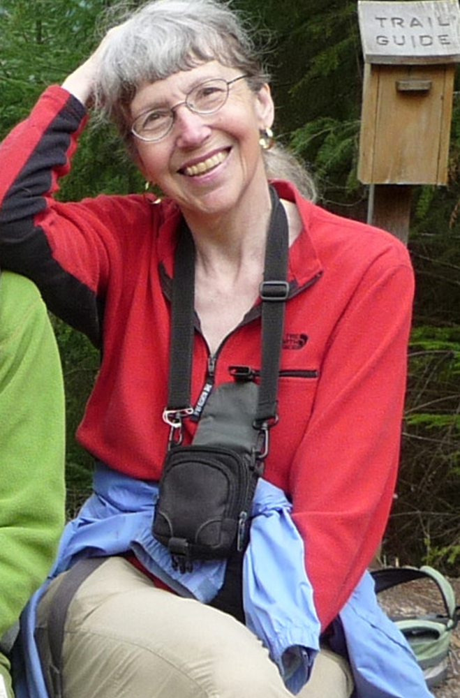 Karen Sykes, an outdoors writer, was reported missing late Wednesday while she researched a story in  Mount Rainier National Park. Crews were searching for her Friday. The Associated Press