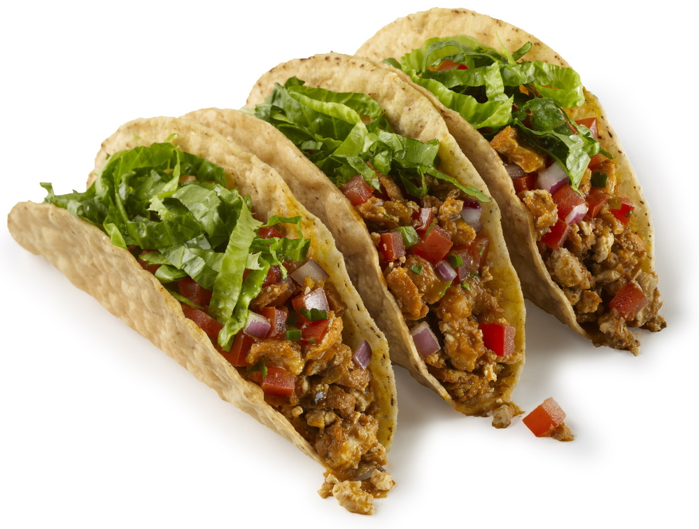 Chipotle's tacos still can come with meat, but health-conscious young people have created a demand for shells with all-vegan shredded tofu braised with peppers.
