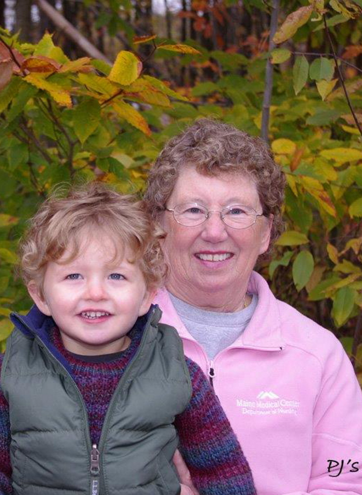 "Margret ""Peggy"" Farr was a nursing supervisor at Maine Medical Center and worked nights until 2012."