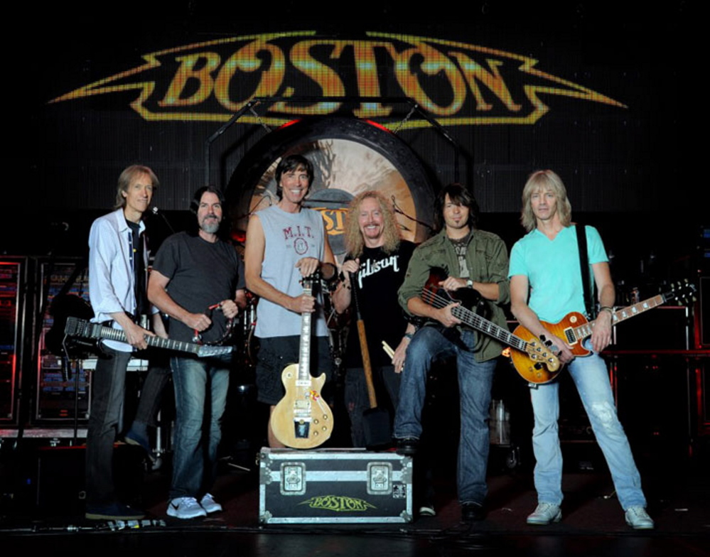 Boston performs with Cheap Trick on Wednesday at Darling's Waterfront Park Pavilion, part of the classic rockers'