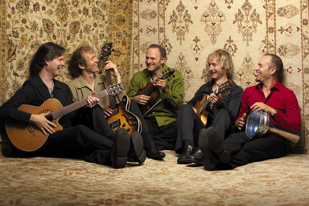 Courtesy photo   The Canadian folk ensemble Sultans of String performs CD release shows in Carthage on Wednesday and Kingfield on Thursday.