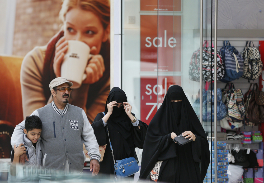 Middle Eastern shoppers are making an annual pilgrimage to London to shop for luxury items before the holy month of Ramadan begins this weekend. Middle Eastern tourists ranked second for money spent in Britain last year as they doled out $1.5 billion.