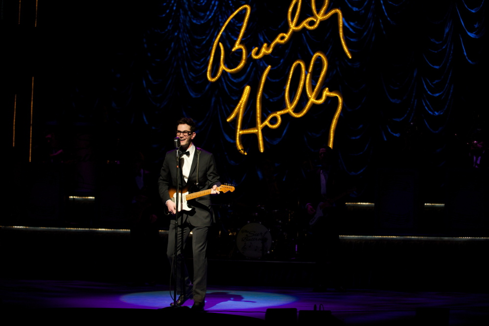 """Buddy: The Buddy Holly Story"" features the music of the American rock pioneer as well as songs by the Big Bopper and Ritchie Valens. Urdaneta photo"