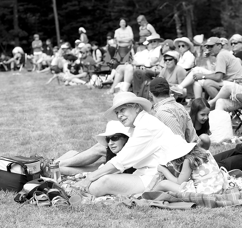 """Fans or """"cranks"""" watch the game during the Freeport Historical Society ..."""