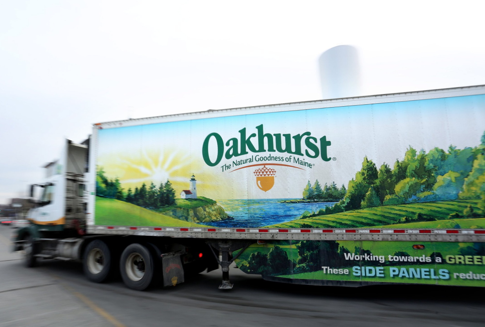 2014 Press Herald file photo/Gabe Souza As part of the Great American Milk Drive, which began Tuesday in Maine, Oakhurst Dairy will donate three half-gallons of milk for every run scored by the Portland Sea Dogs in June.
