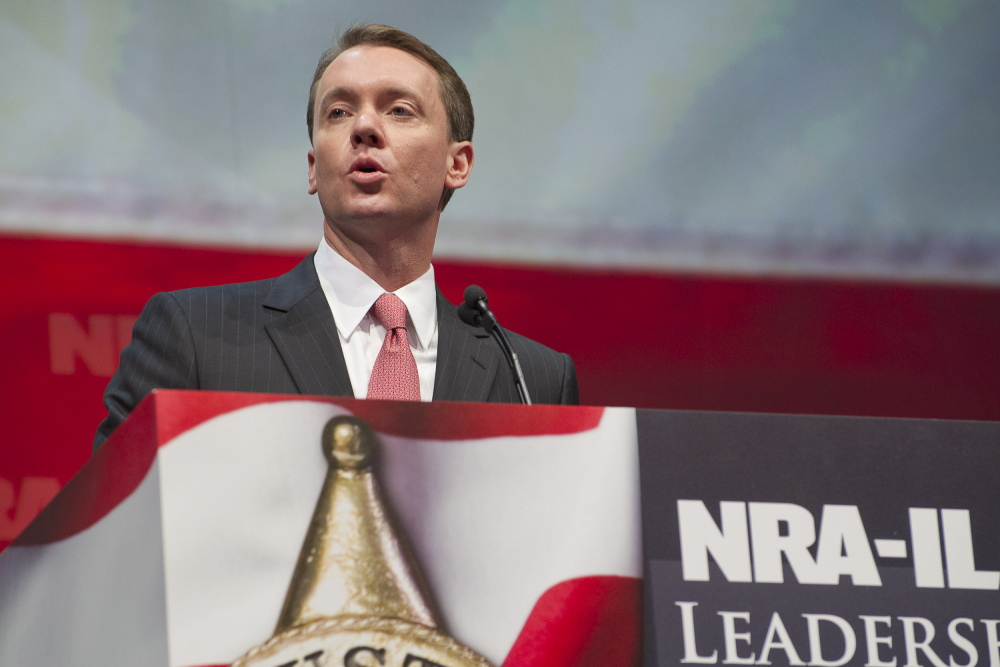 The Associated Press National Rifle Association's lobbying director Chris W. Cox soothed ruffled Texan feathers with a statement Wednesday.