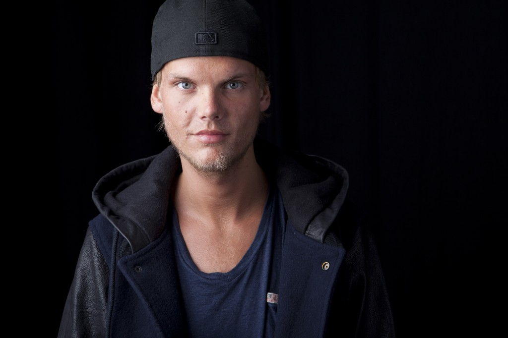 An undated photo of Swedish DJ, remixer and record producer Avicii.