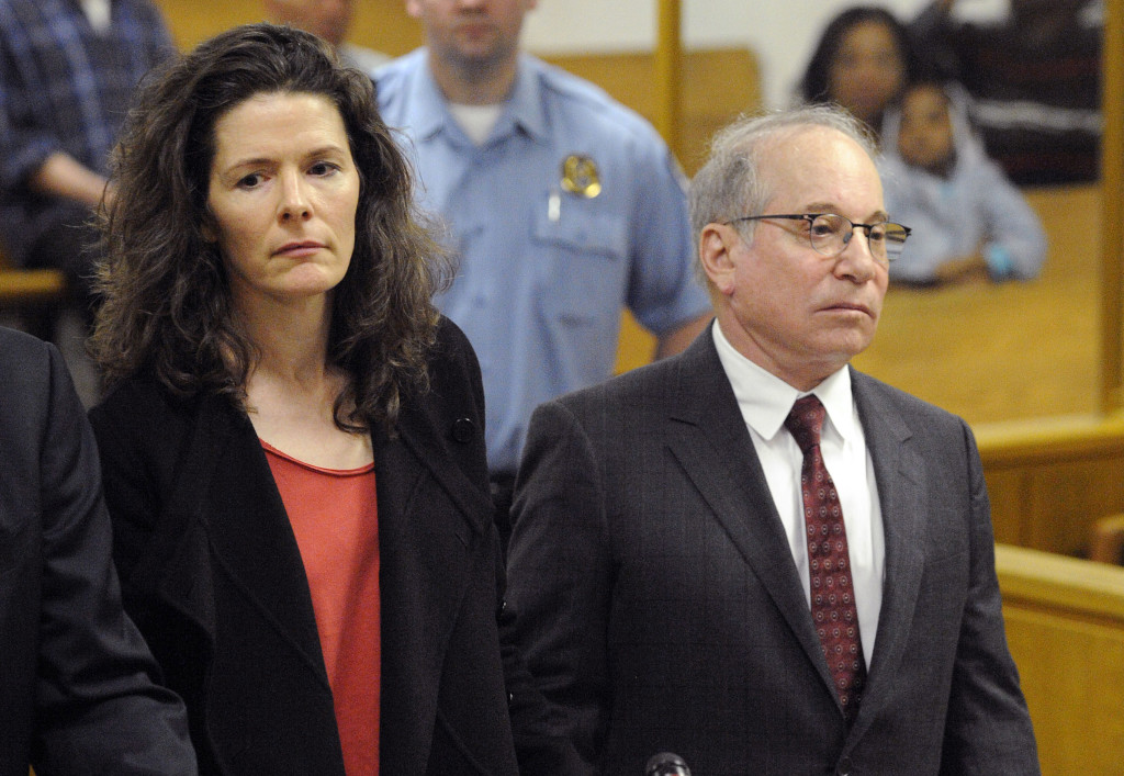 Paul Simon and his wife, Edie Brickell, make a brief appearance in Superior Court in Norwalk, Conn., in May for a disorderly conduct case about an April 26 argument inside a cottage on their New Canaan property. Prosecutors have decided not to pursue the case. The Associated Press