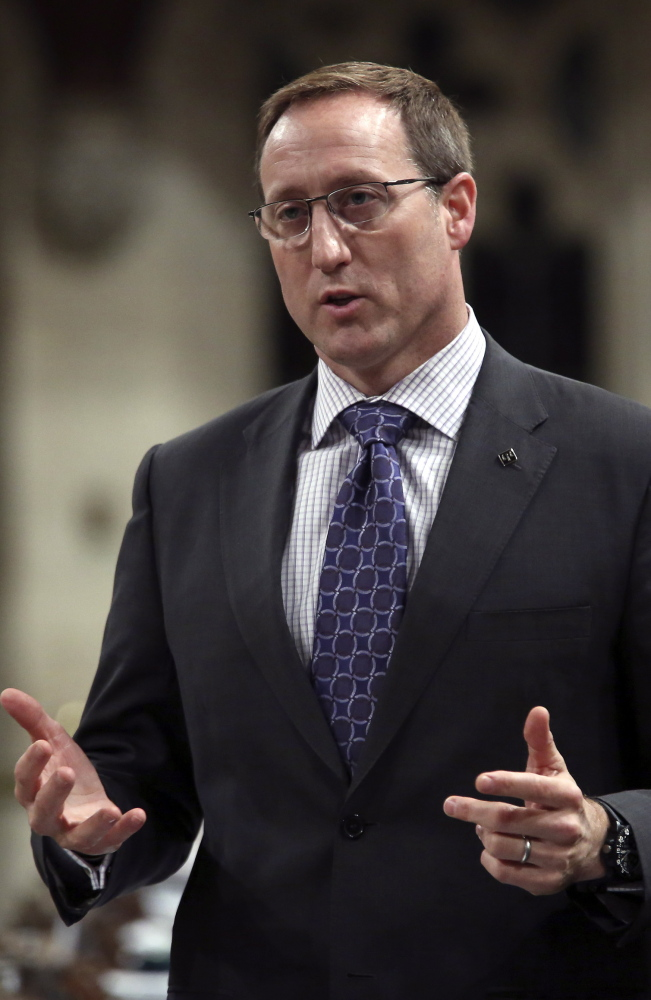 """Canada's Justice Minister Peter MacKay says the new law would target pimps and """"the perverts."""" Reuters"""