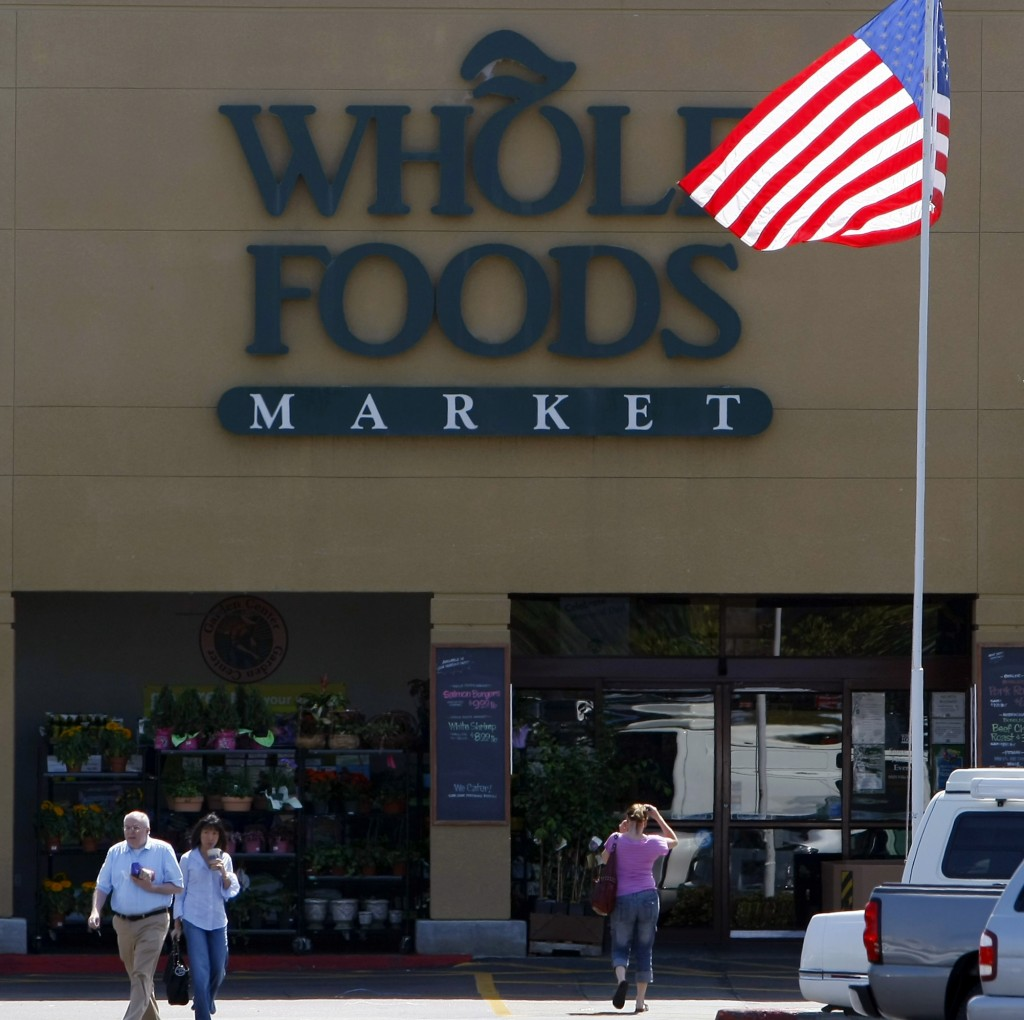 A  Whole Foods Market in La Jolla, Calif. Reuters
