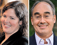 U.S. House District 2: Emily Cain and Bruce Poliquin