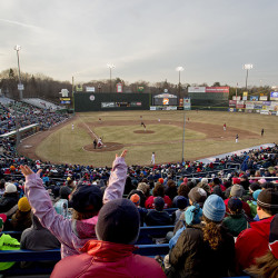 Sea Dogs Opening Day at Hadlock Field