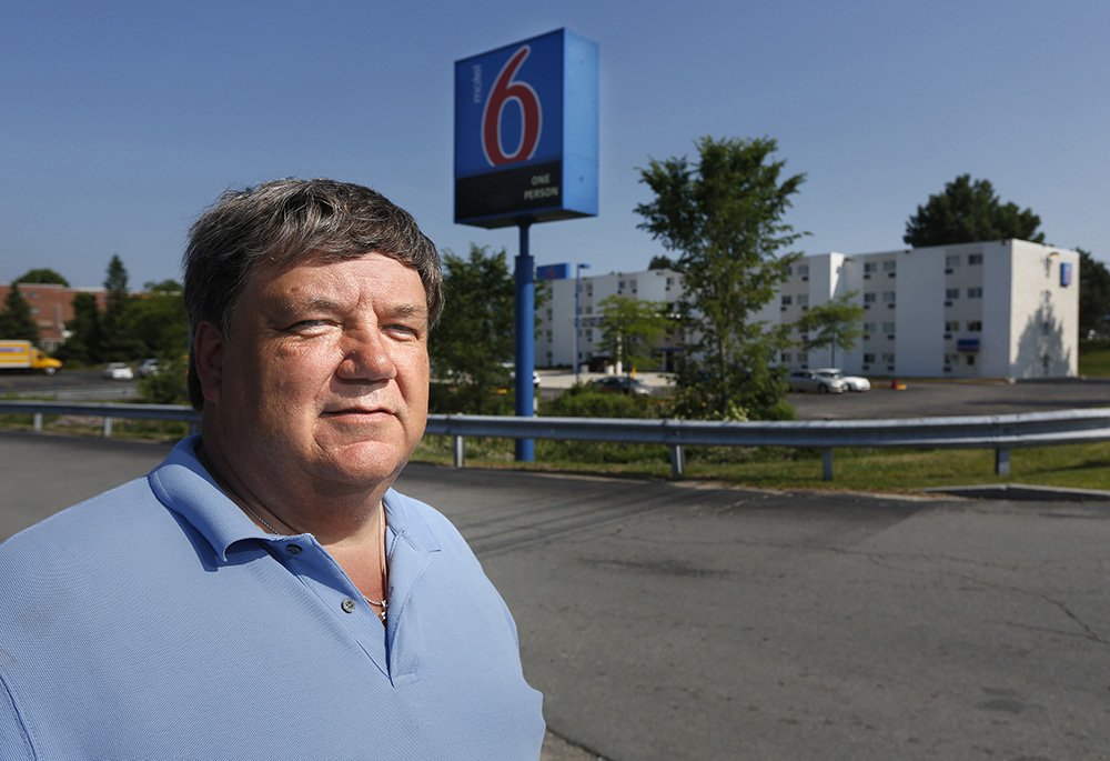 Steve Reed was a clerk at the Motel 6 in Portland in 2002 when he recognized two guests who were the target of a nationwide manhunt after the body of an infant was discovered in their abandoned pop-up camper. Reed, whose own daughter was dying at the time, was credited by police with saving the life of the young baby the couple was traveling with. Reed is publishing a book about the impact the experience had on his life.