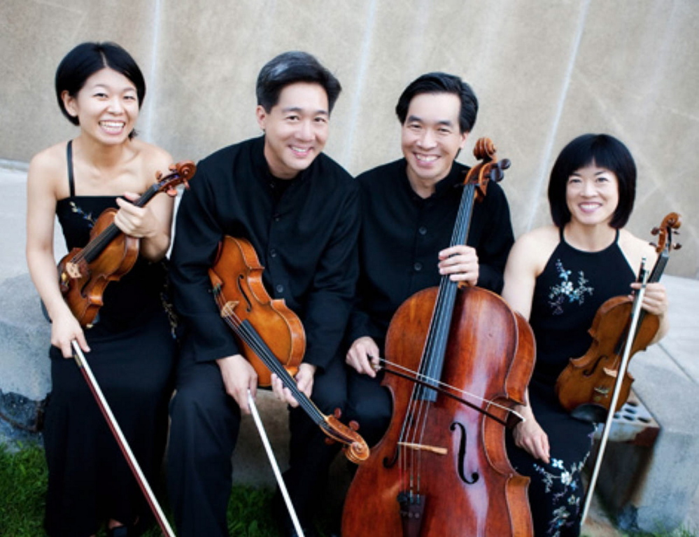 The Ying Quartet: Masterfully playing Beethoven's cadenzas.