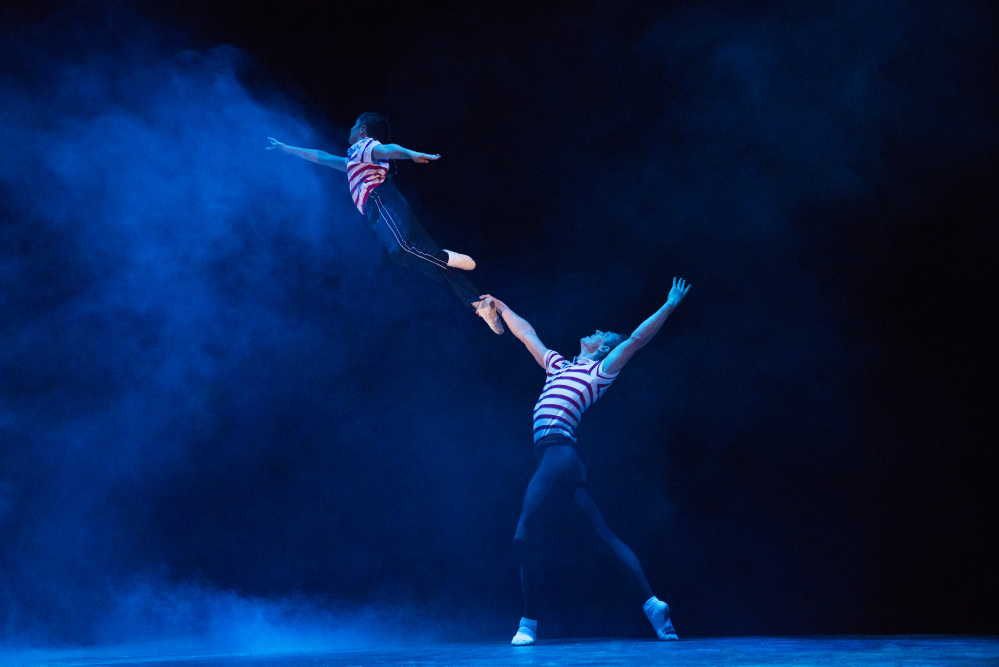 A scene from the Ogunquit Playhouse production of 'Billy Elliot.' Courtesy of Ogunquit Playhouse