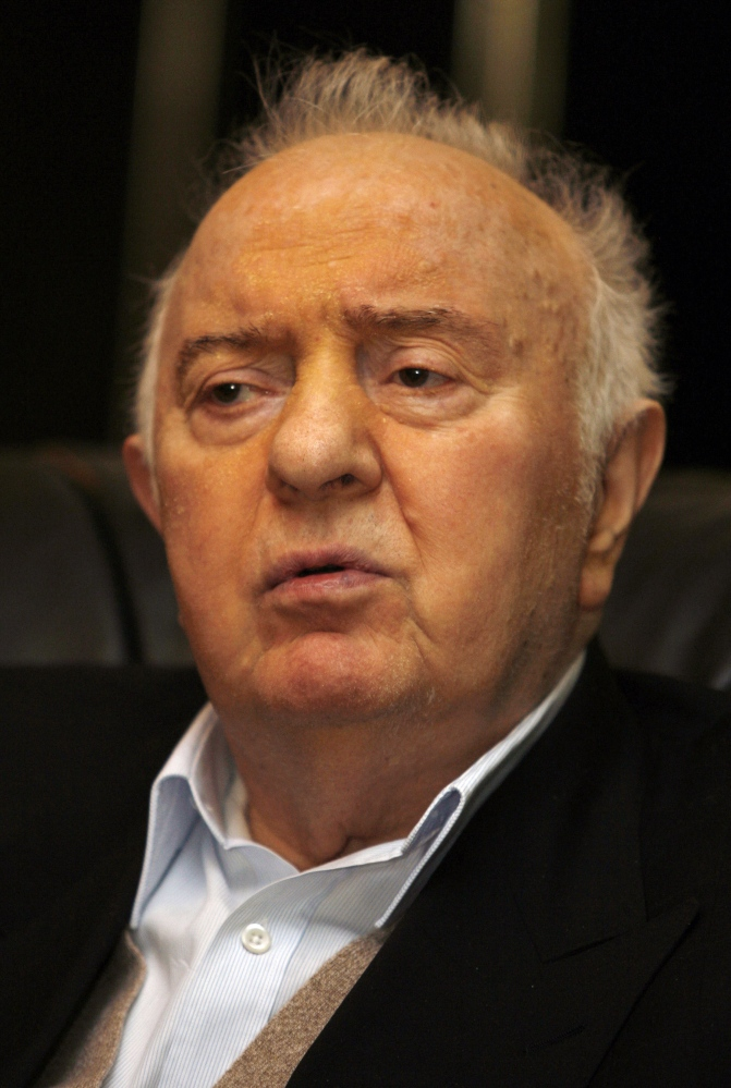 Former Georgian president and ex-Soviet foreign minister Eduard Shevardnadze in a February 2011 photo. U.S. officials forged close ties with Shevardnadze, and the U.S. government gave his nation millions of dollars in aid in hopes of keeping Georgia in the western orbit.