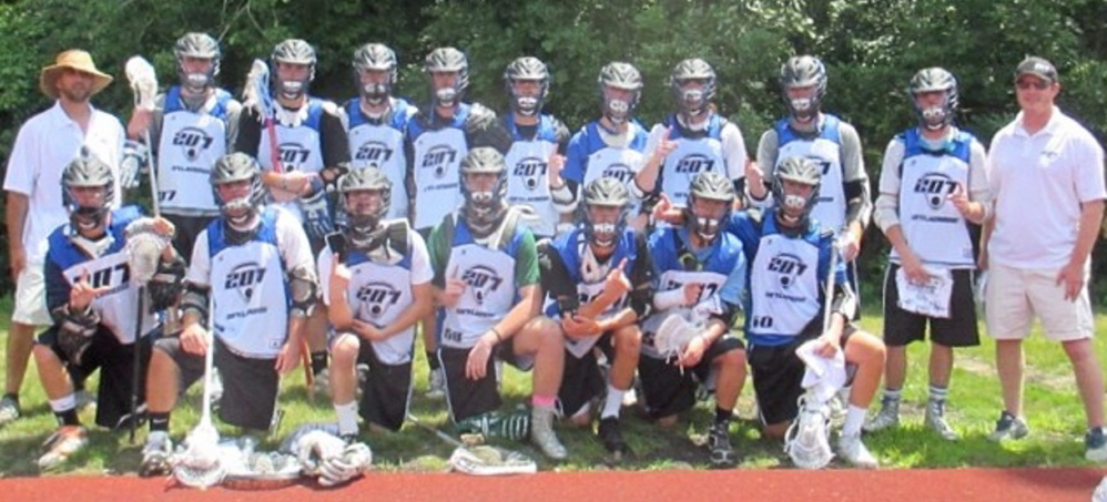 The 207Lacrosse boys class of 2015 elite travel team won the Bryant Bulldog Classic elite division last month in Smithfield, R.I. The team members included John Beatty, Joshua Caldwell, Chris Camire, Ryan Croatti, Owen Ginty, Cameron Glover, Erik Jennings, Bryce Kuhn, Jonny LaMourie, Thomas Lawson, C.J. Leighton, Garrett McGrath, Mitch Mullin, Nicholas Schleh, Harrison Shain, Michael Susi, Kevin Tolan and Jake Truman. The team was coached by Sam Manders (head coach) and Jesse Sataloff (assistant).