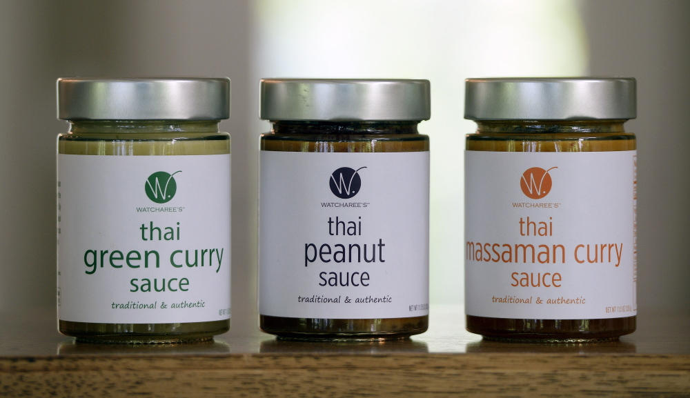 Limanon's line of sauces includes green curry, peanut and massaman curry.