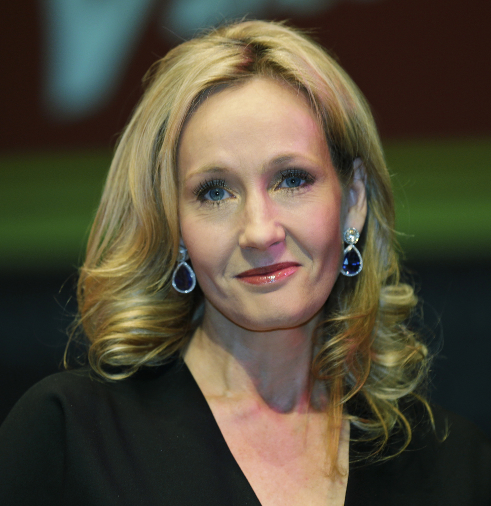 J.K. Rowling gives fans a glimpse of the grown-up boy wizard in a new story posted on her website.