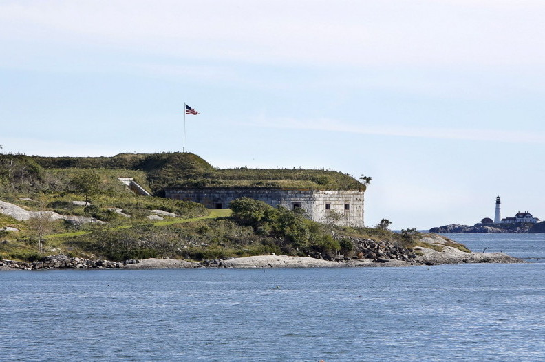 Fort Scammel, on House Island's southern tip, was the only fort on Maine's coast to see action during the War of 1812.