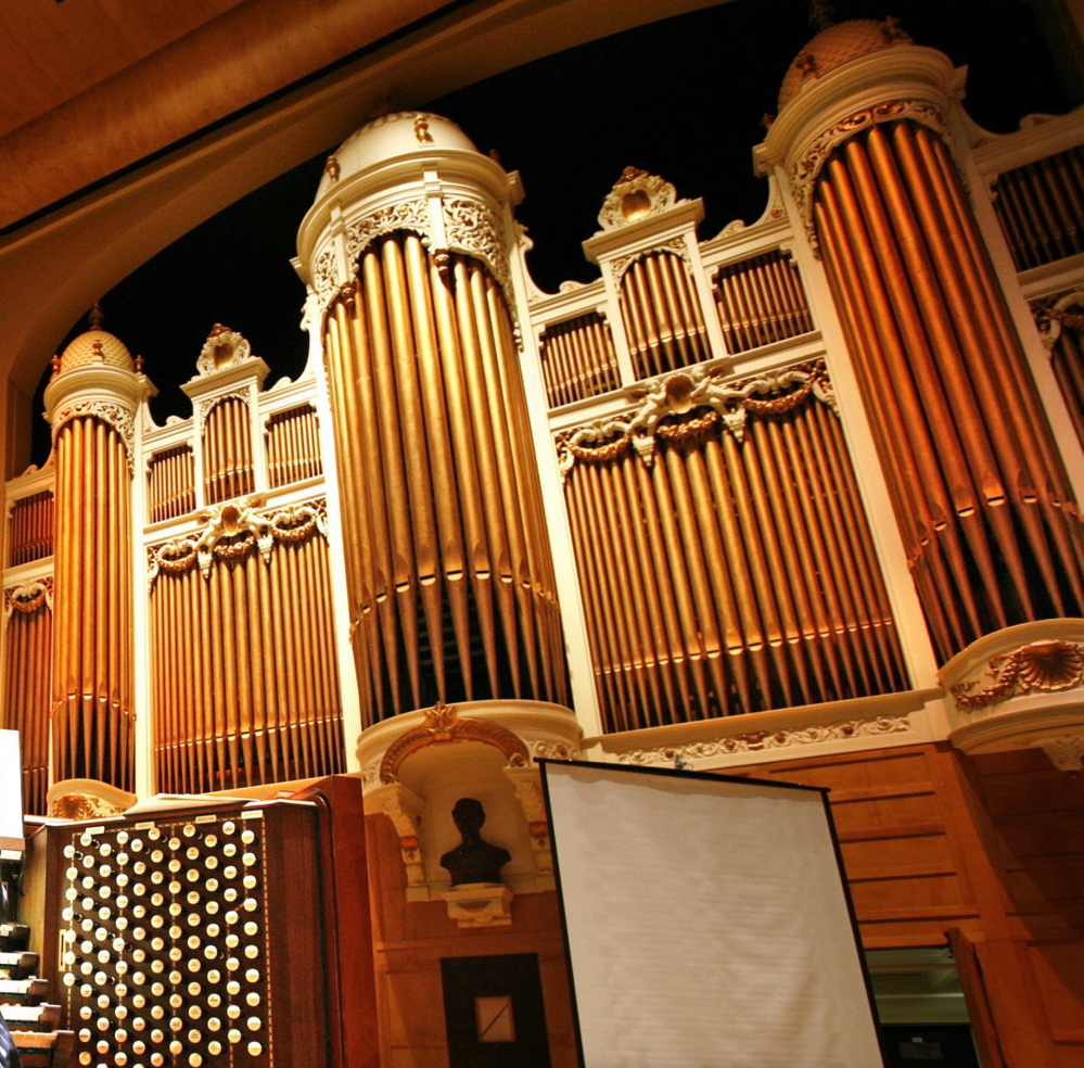 The Kotzschmar Memorial Organ was donated in 1912.