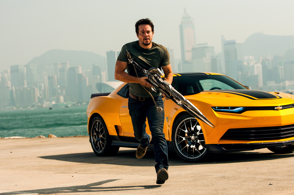 "Mark Wahlberg stars as Cade Yeager in ""Transformers: Age of Extinction,"" which had the biggest weekend debut box office revenues of any film this summer."