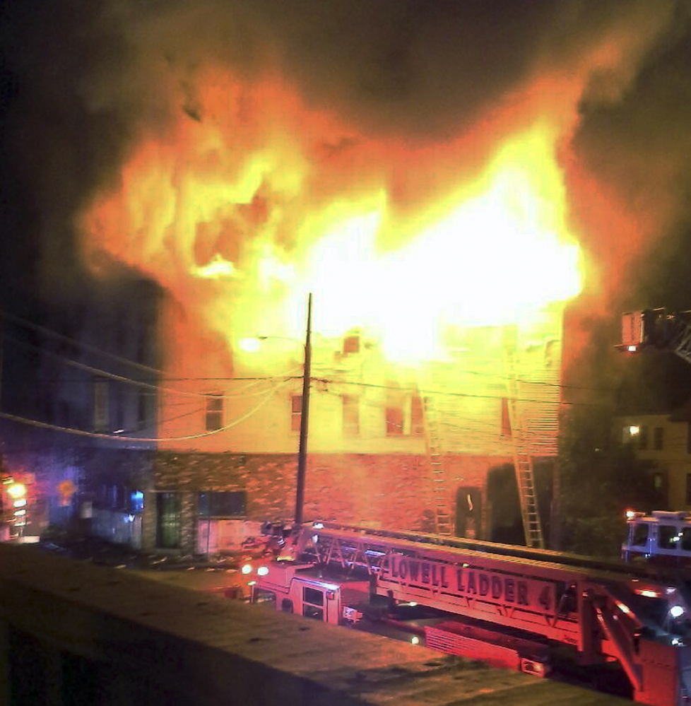 The neighbors lost people they knew in the fast-moving pre-dawn fire where officials said seven people died.